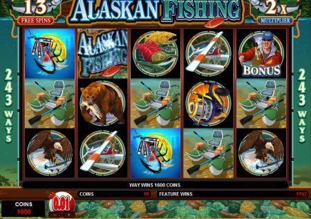 Alaskan Fishing – Slots Game
